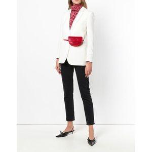 Wandler Anna Belt Red Leather Bag
